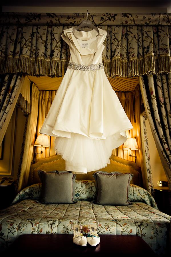 The Dorchester wedding dress