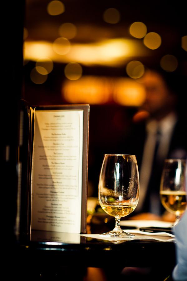 The Dorchester bar menu