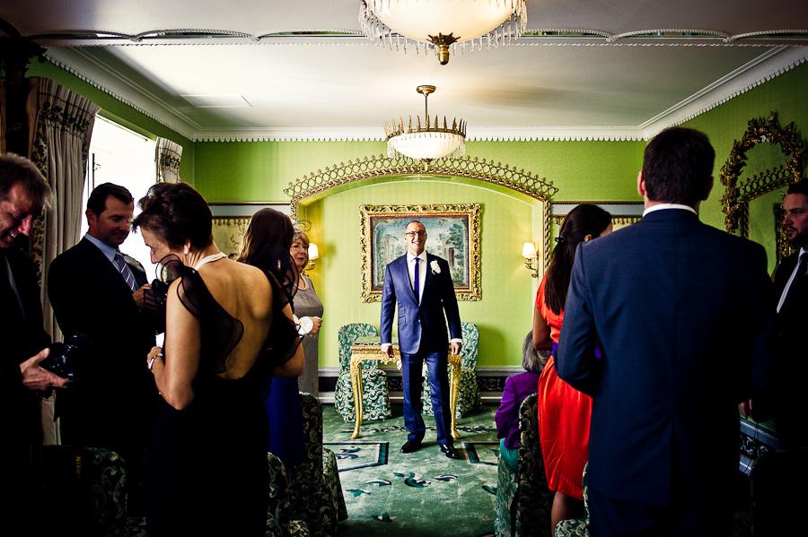 Dorchester wedding ceremony