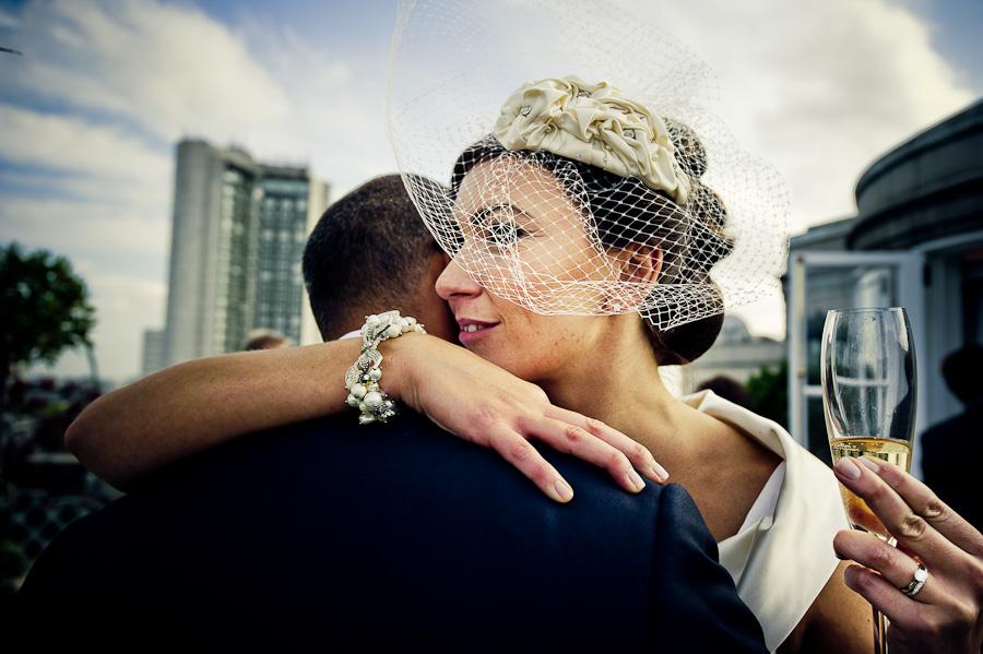 roof terrace wedding London