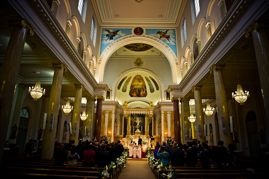 St. Peter's Italian Church wedding