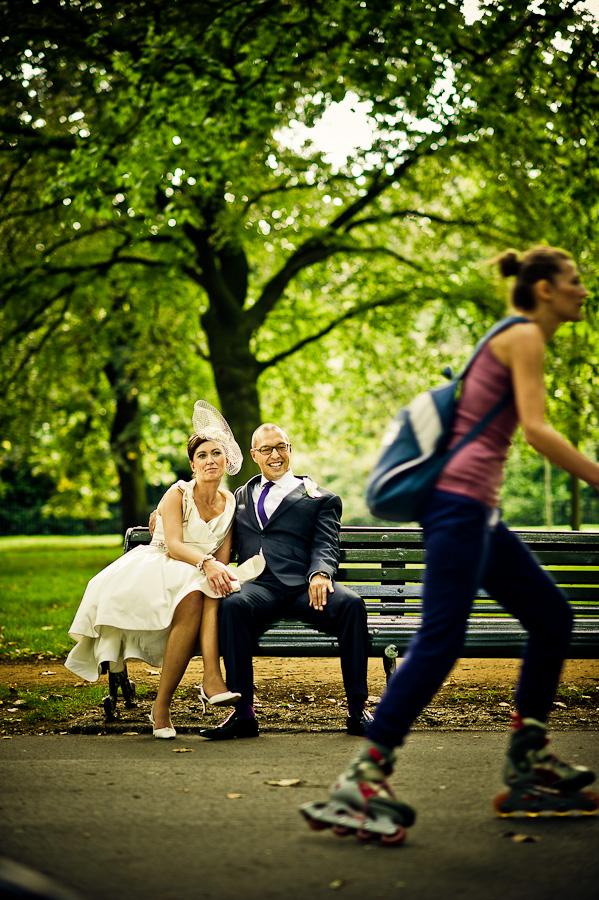 wedding photos Hyde Park