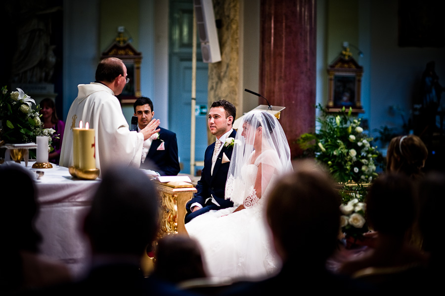 Catholic wedding in London