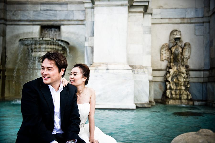 Chinese wedding photographer Rome