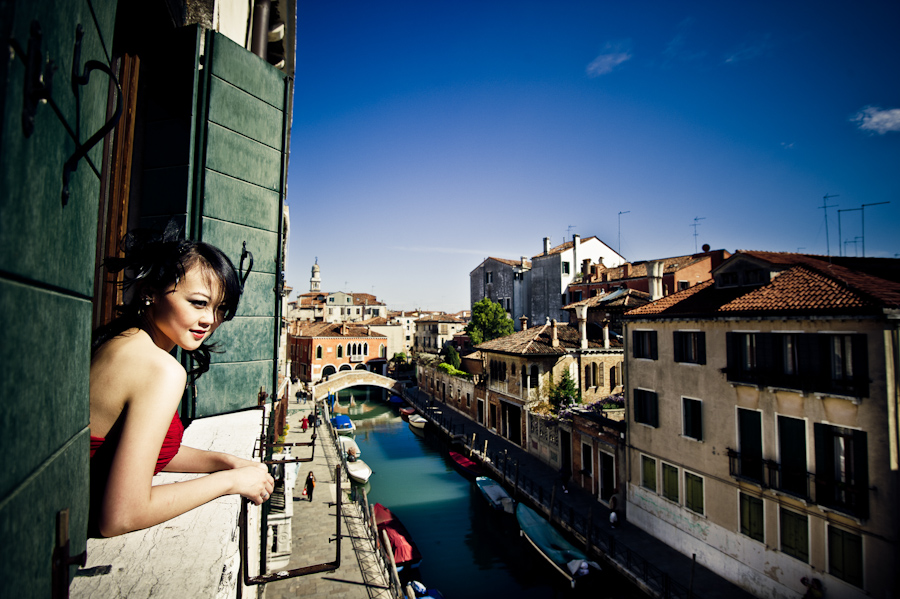fashion shoot Venice