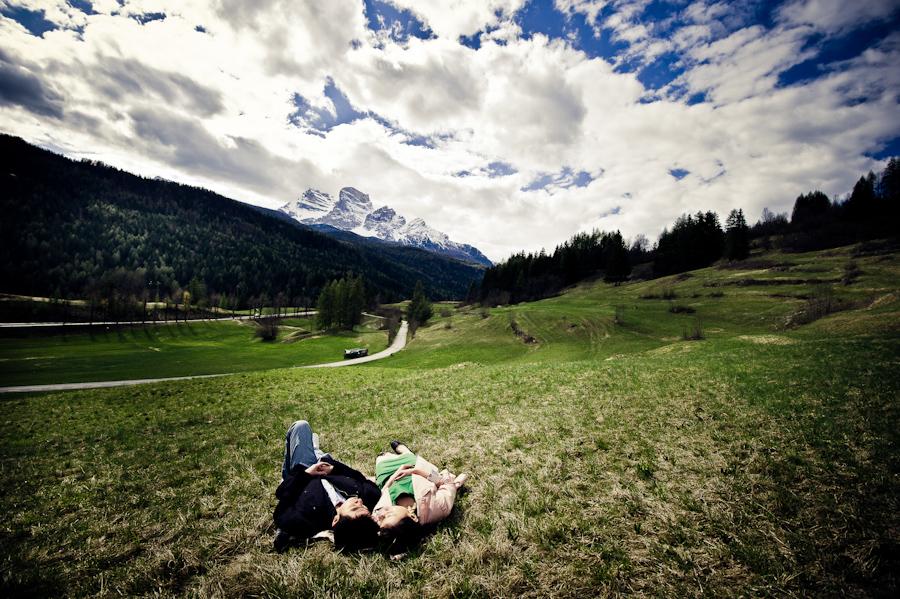 prewedding Alps