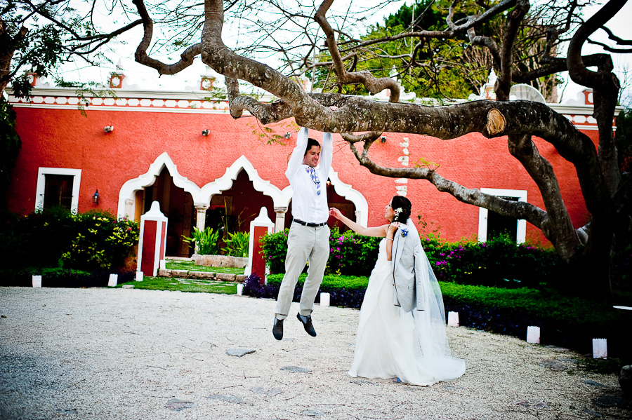 Hacienda wedding Mexico