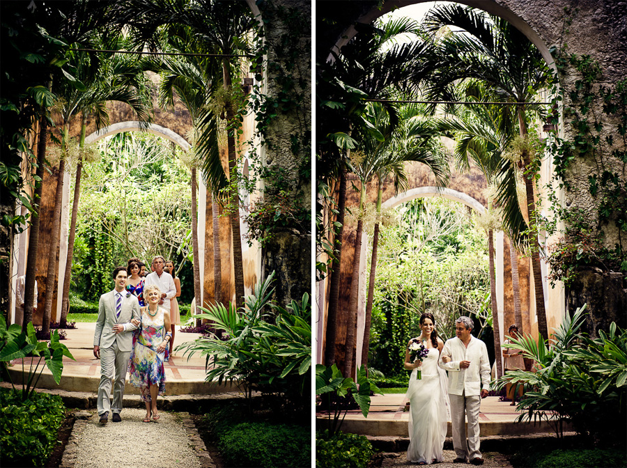 Hacienda wedding in Mexico