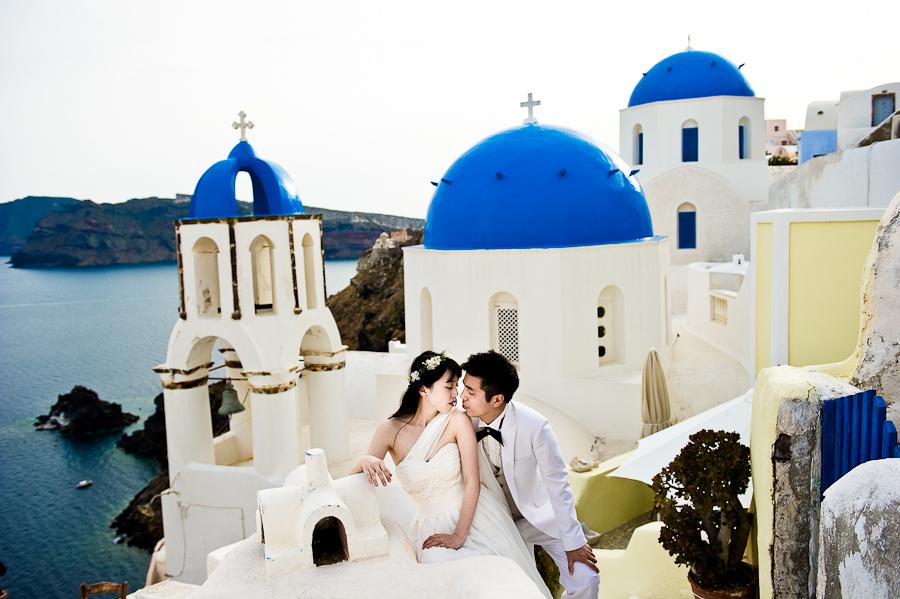 Prewedding Santorini