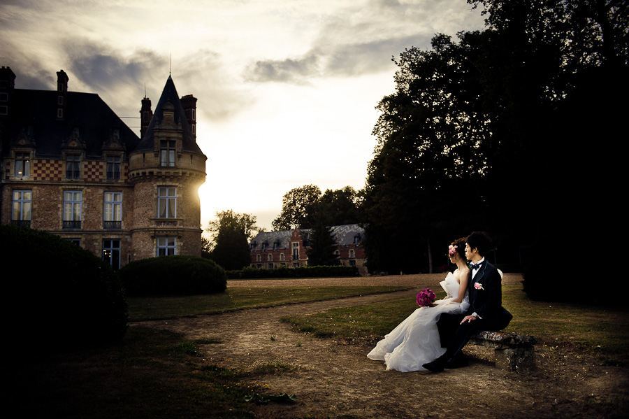 chateau Esclimont wedding photography