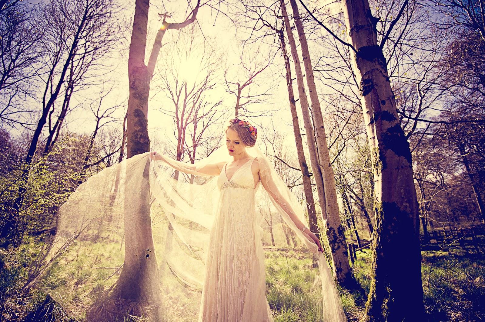 forest wedding England