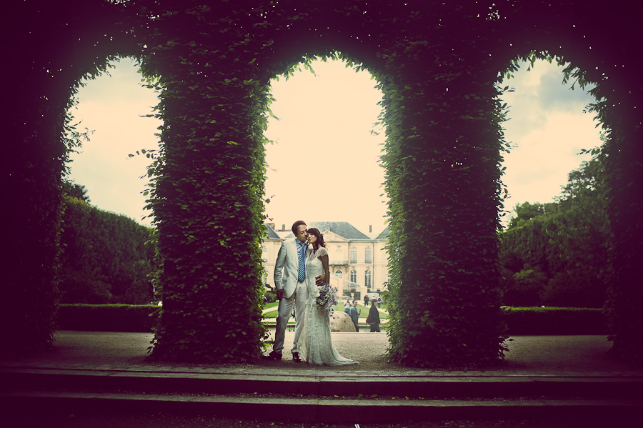 wedding Musee Rodin Paris