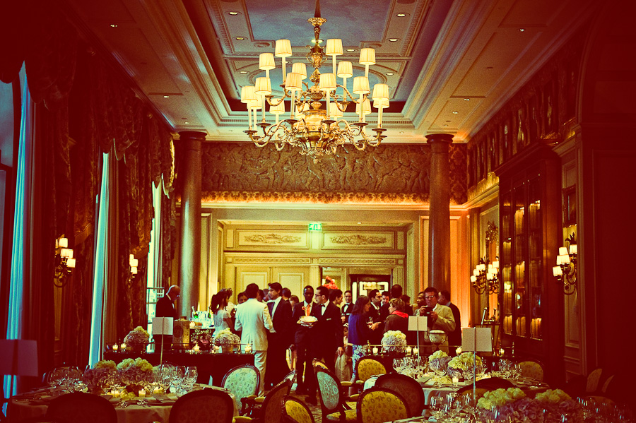 Wedding reception Four Seasons hotel Paris