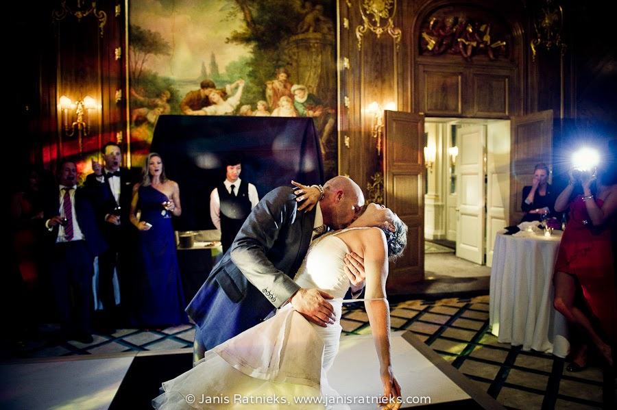 passionate first dance tango