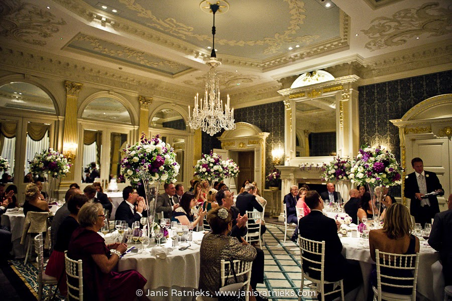 wedding reception Mayfair