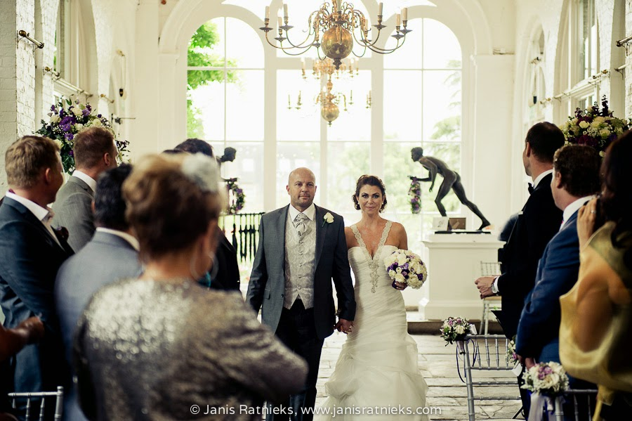 The Orangery wedding Holland Park London