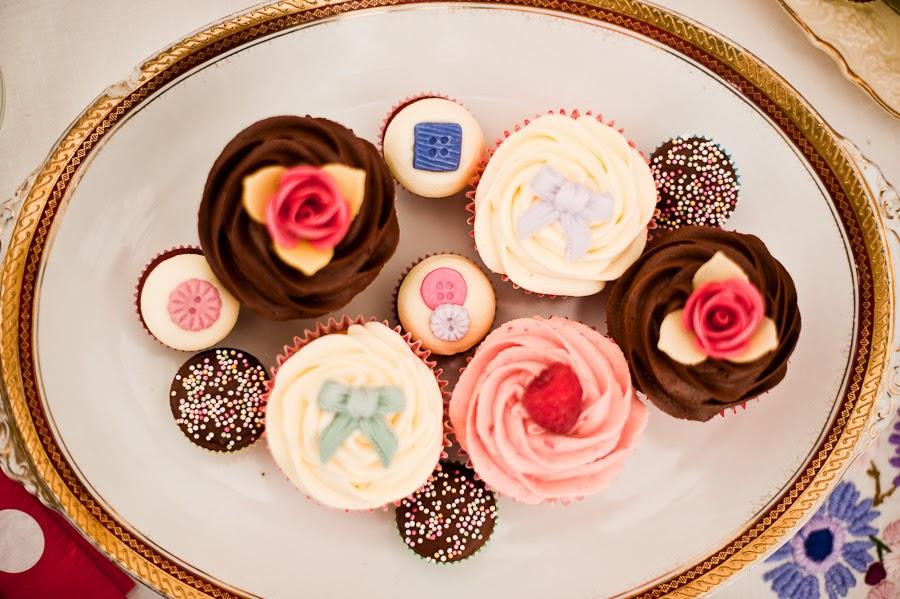 wedding cake cupcakes surrey