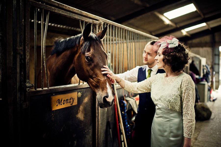 Country wedding in Surrey England