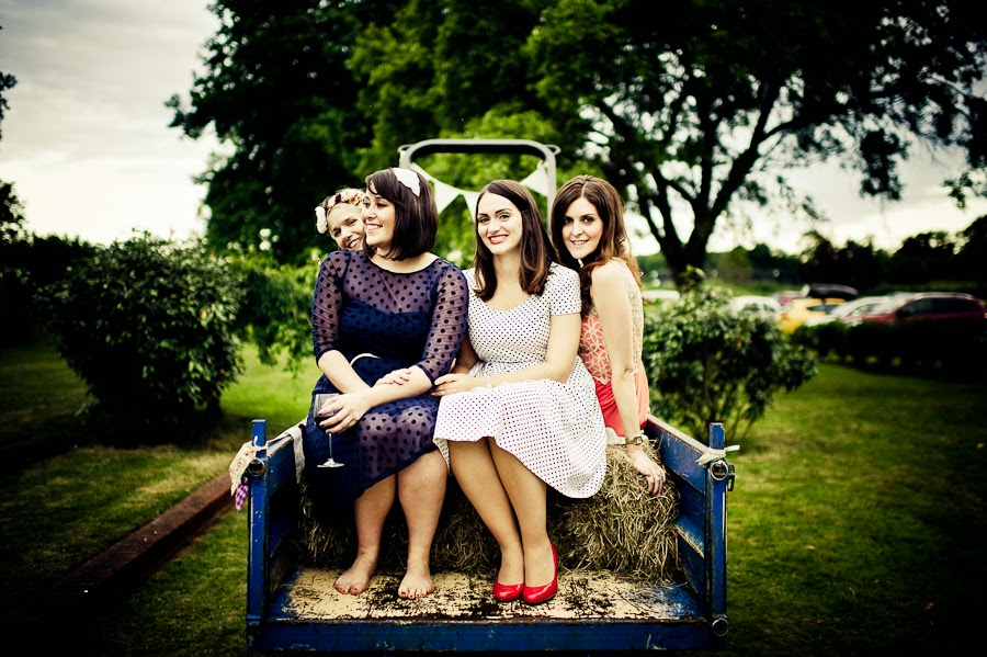 colourful bridesmaids dresses