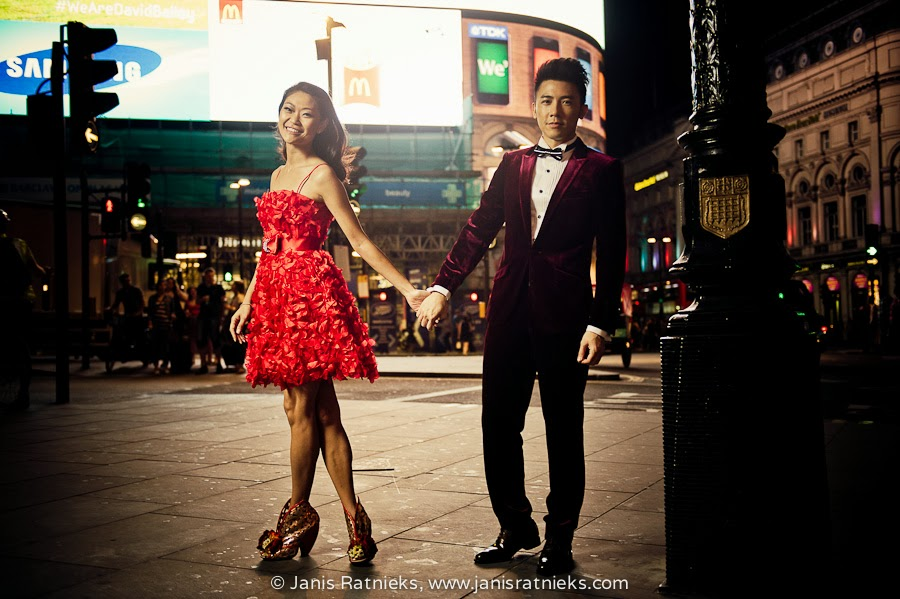 Prewedding fashion London