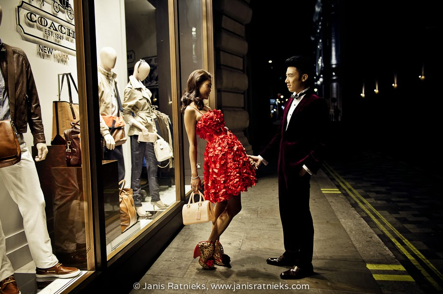 Prewedding dress fashion London