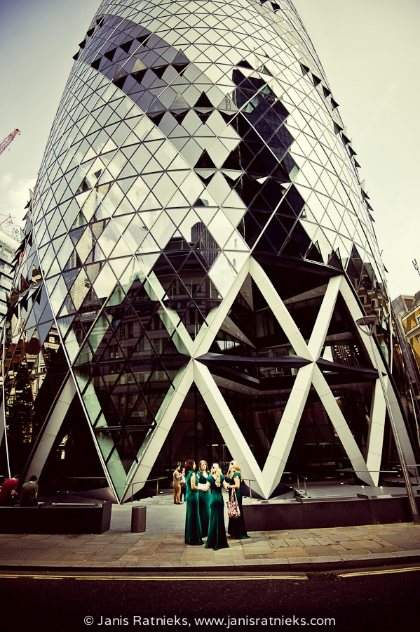 Gherkin wedding London