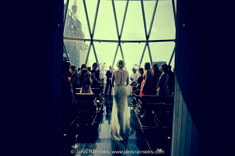 London wedding Gherkin
