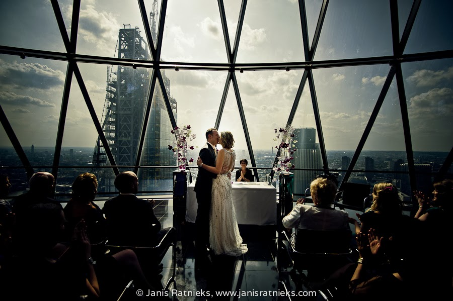 wedding photographers Gherkin