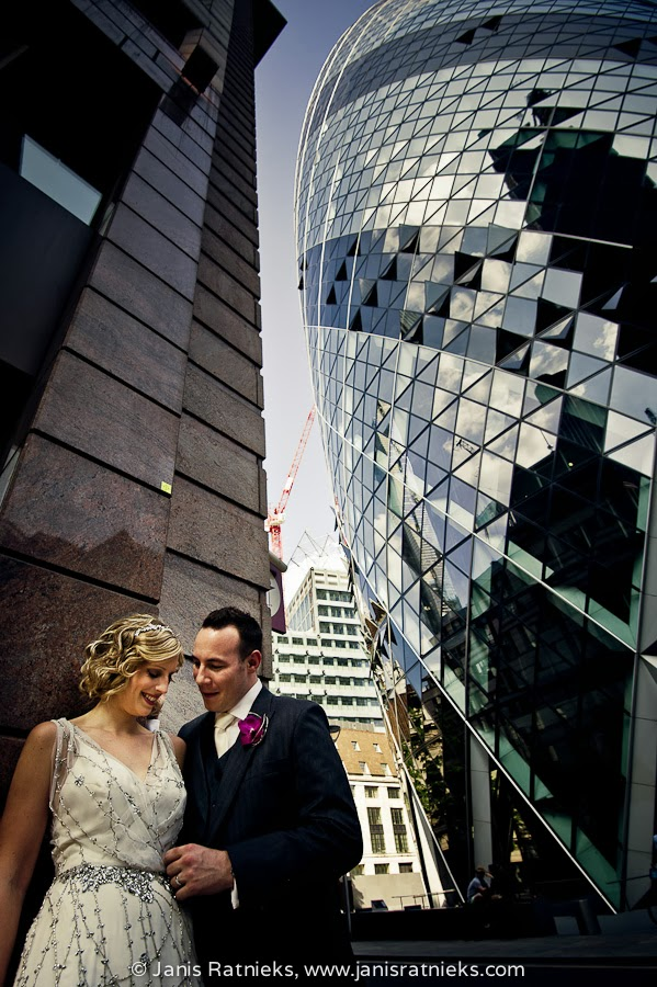 Gherkin wedding photographers