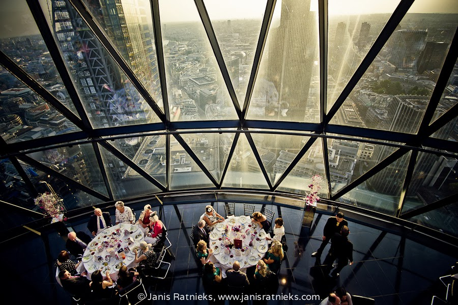 the gherkin restaurant