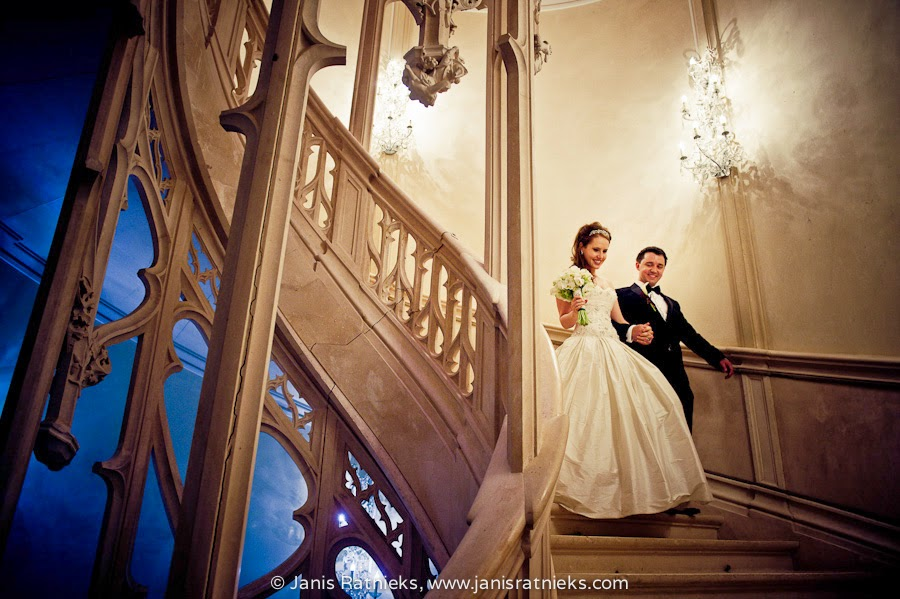Fairy tail wedding in France