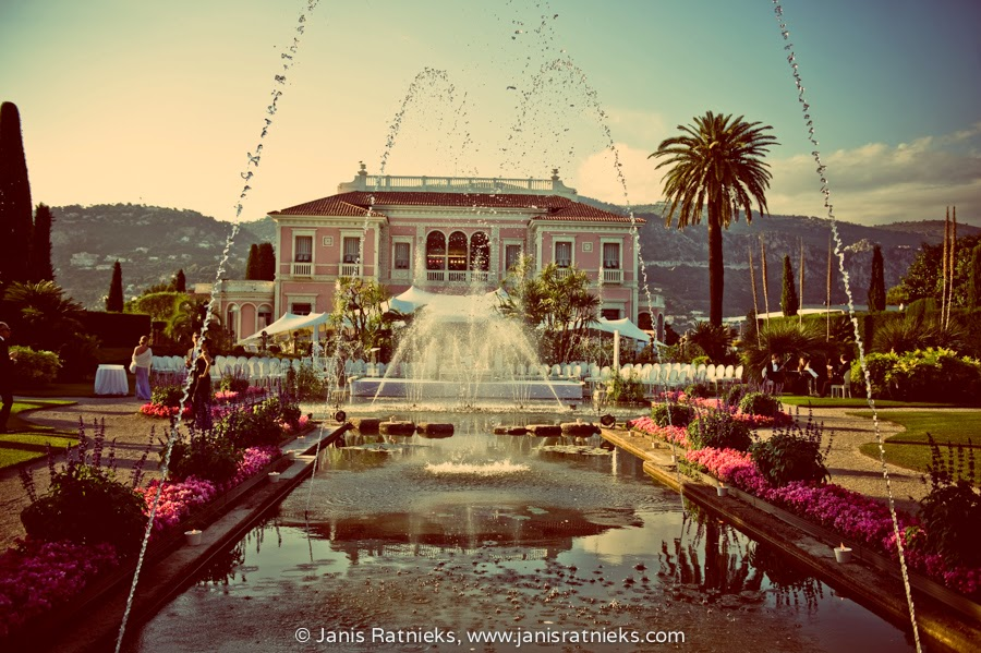 Villa Ephrussi luxury wedding
