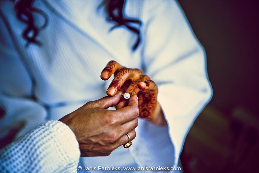 Henna ceremony Hindu wedding