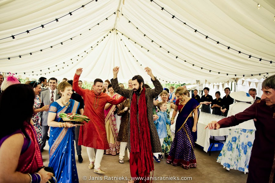 Indian wedding customs groom dances