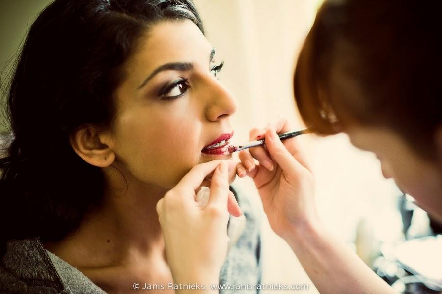 indian wedding make-up