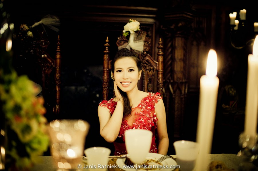 red dress change wedding