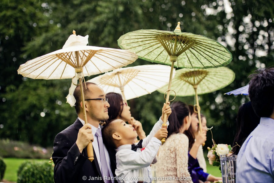 Chinese wedding in France CHateau