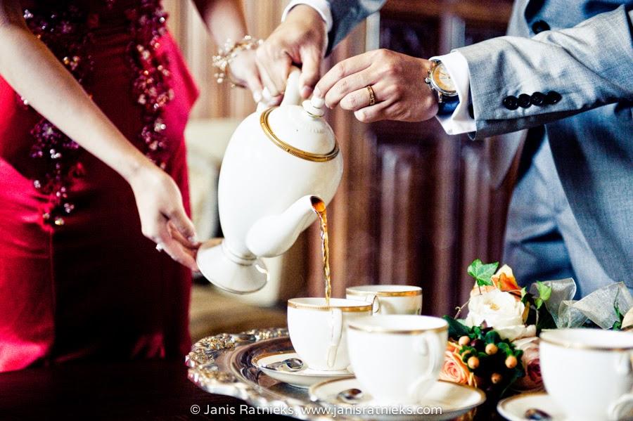 Chinese wedding customs tea ceremony