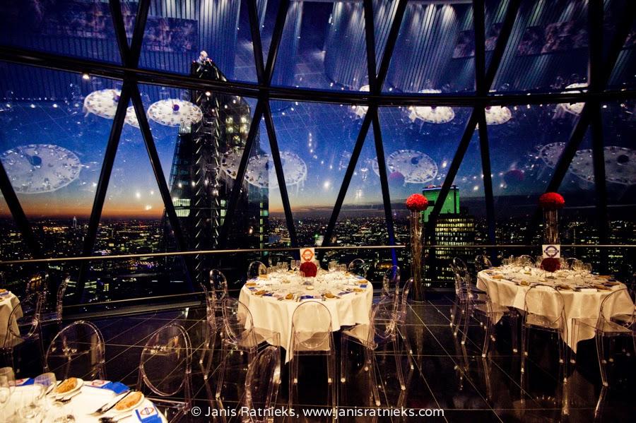 best table in London restaurant