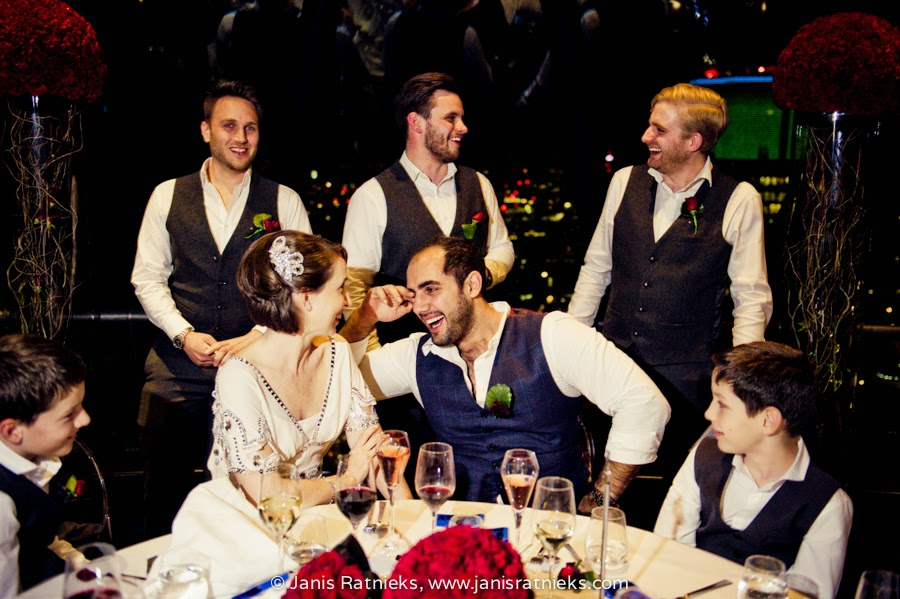 real wedding laugh