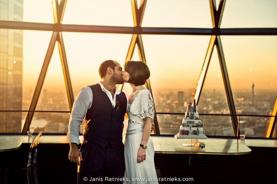 gherkin wedding photographers London