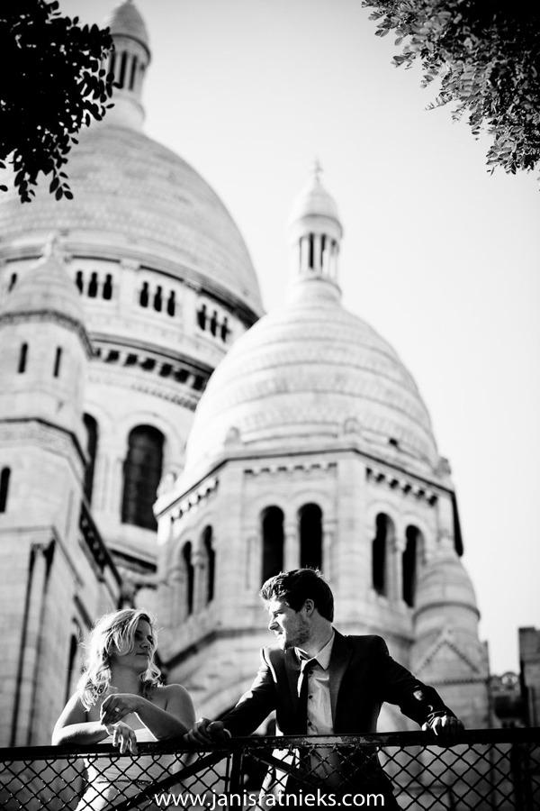 wedding photos in Montmartre