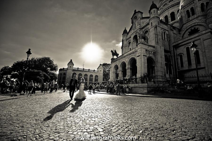wedding photographs in Montmartre