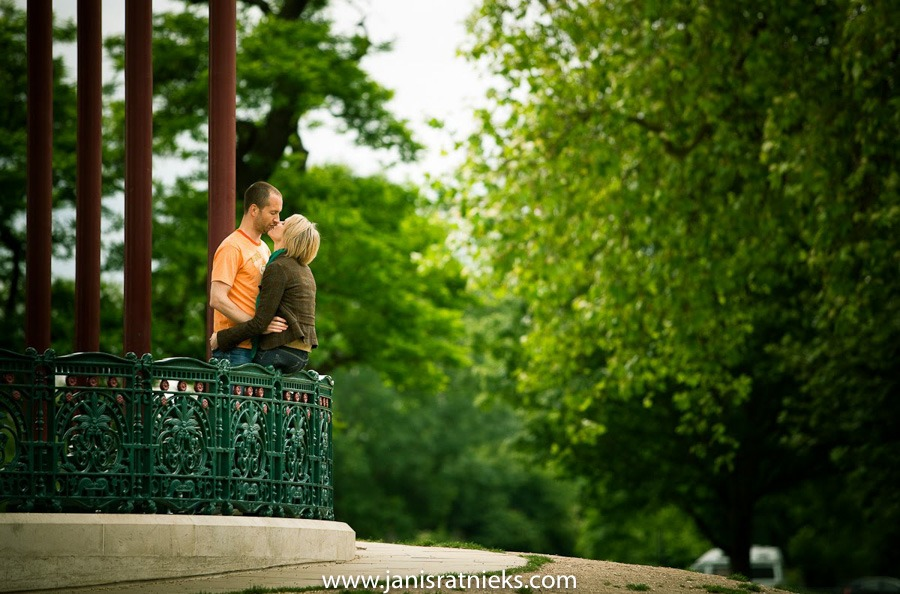 spring engagement photoshoot clapham