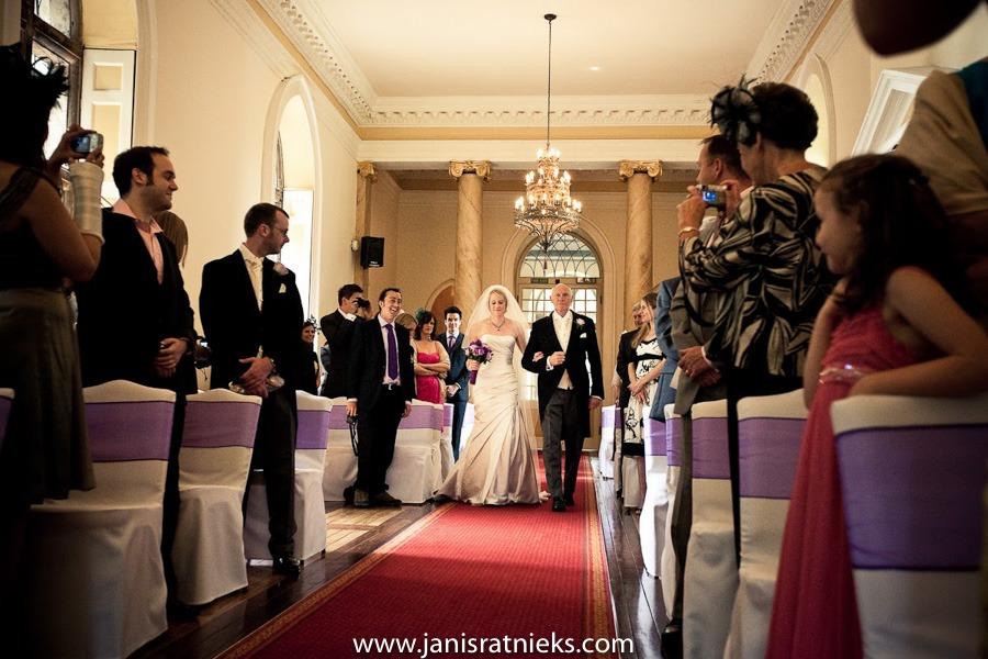 Gloucestershire wedding ceremony