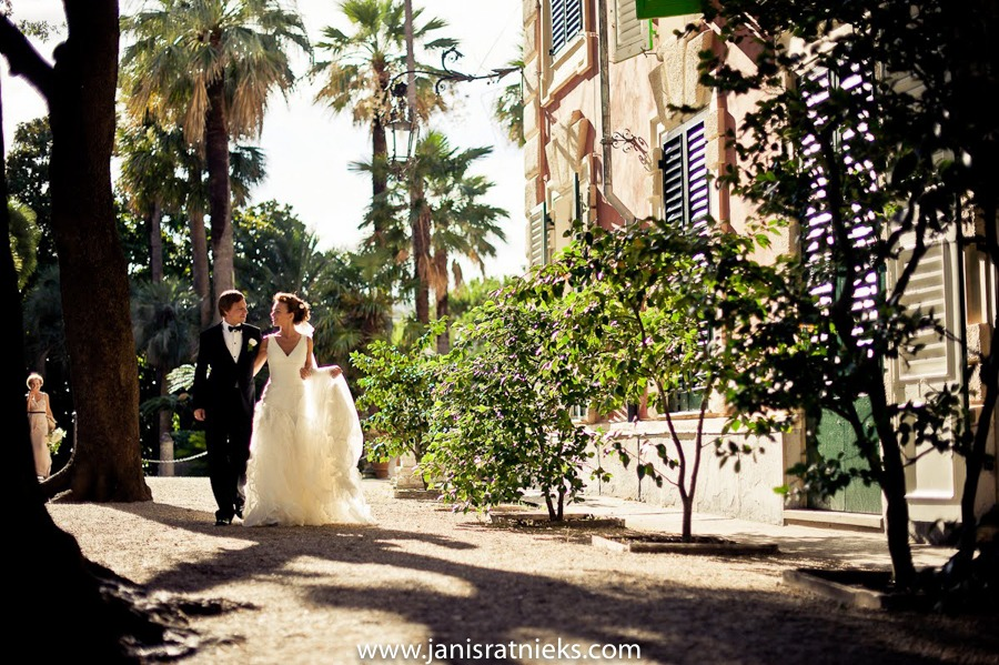 Villa Durazzo wedding venue Italy