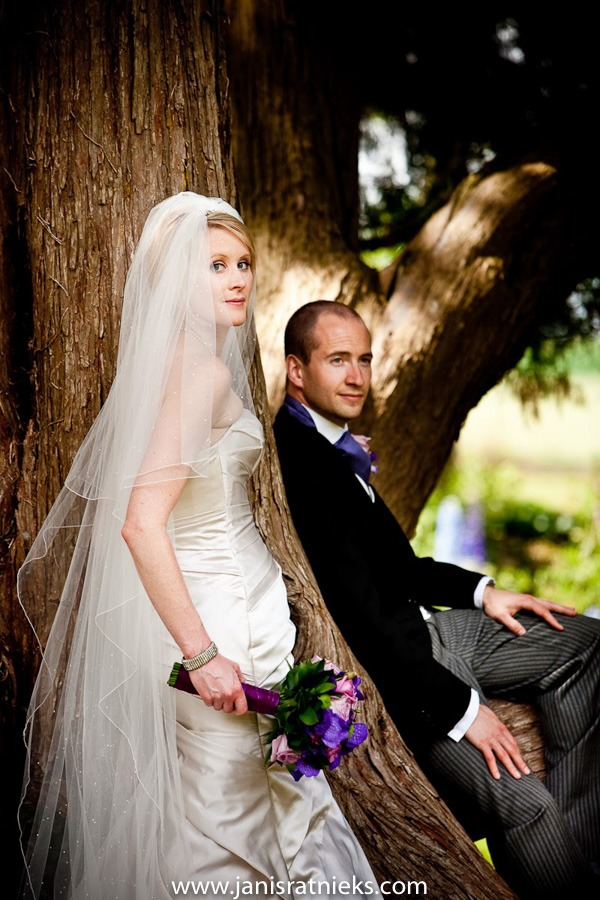 classical silk wedding gown