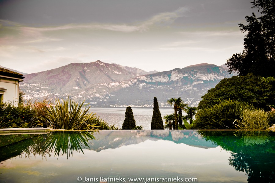 Villa lake Como infinity pool