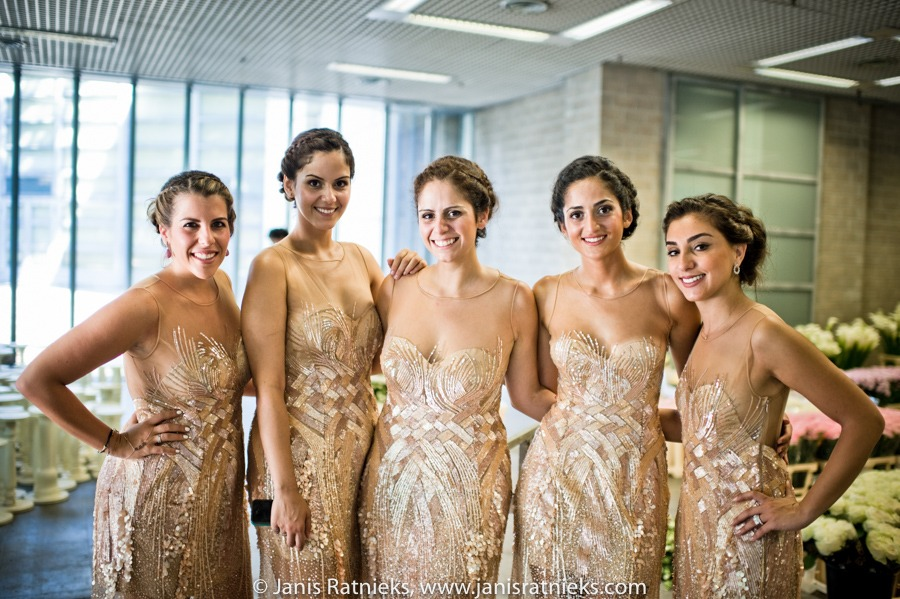 bridal party dress design Claudine Ivari