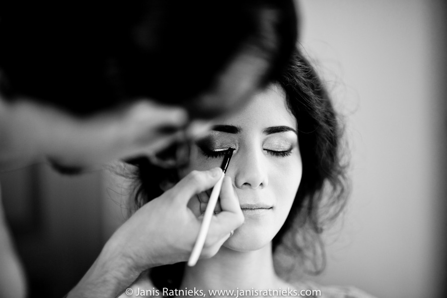best bride make up como
